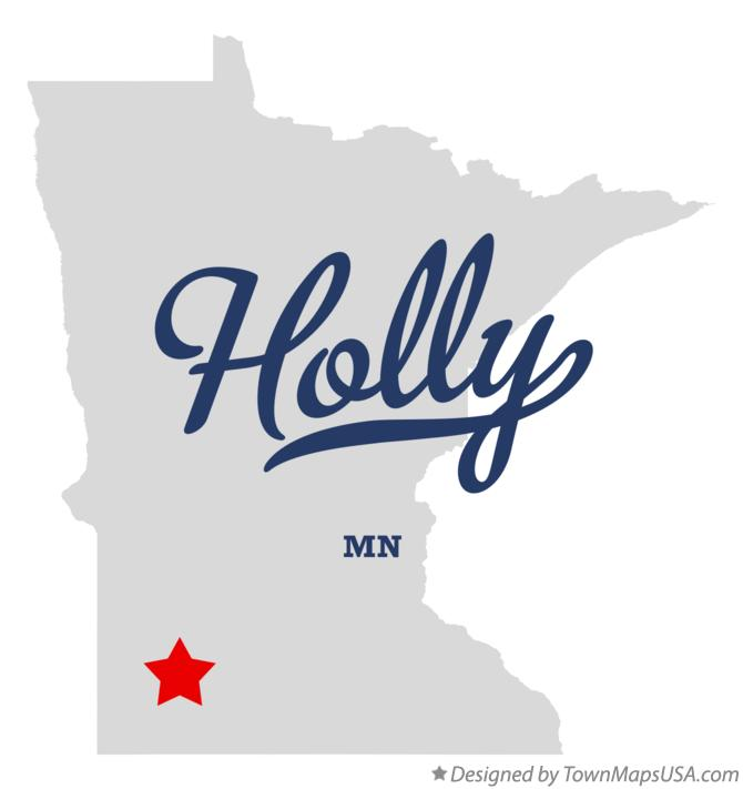 Map of Holly Minnesota MN