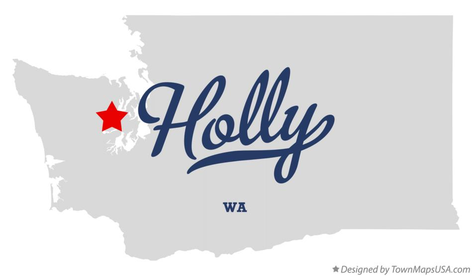 Map of Holly Washington WA