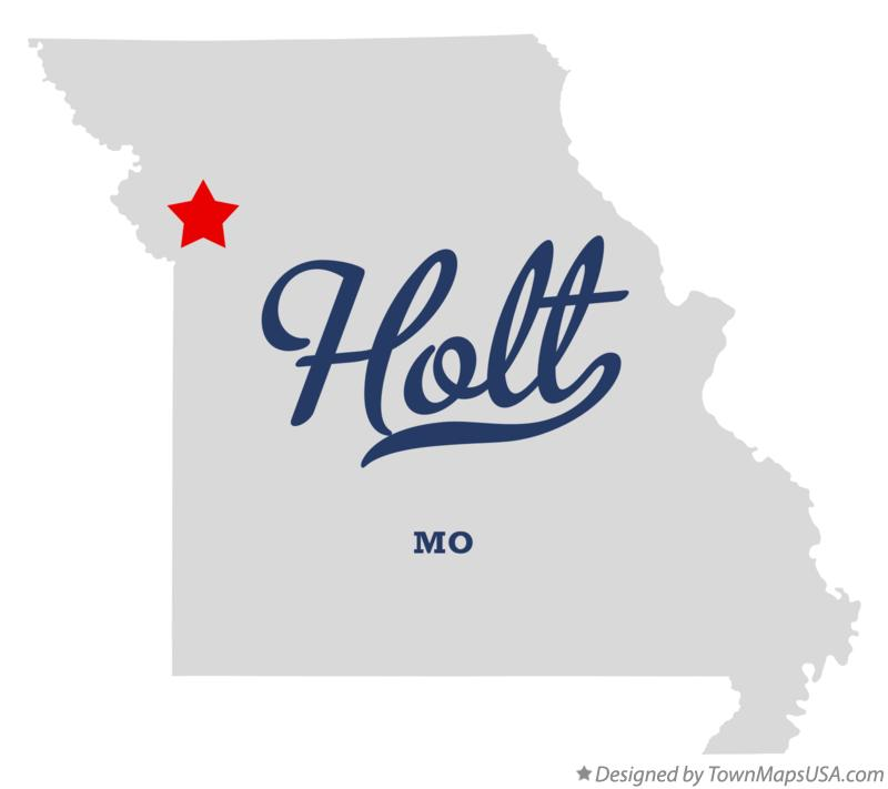 Map of Holt Missouri MO