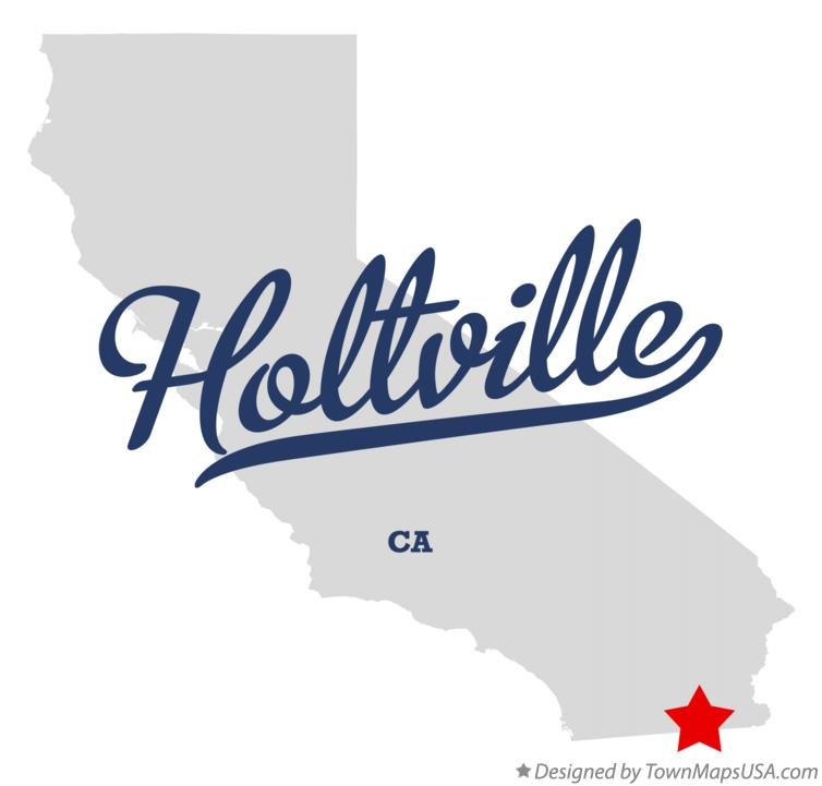 Map of Holtville California CA