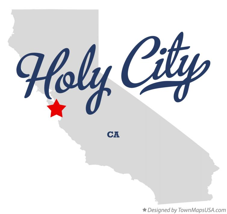 Map of Holy City California CA