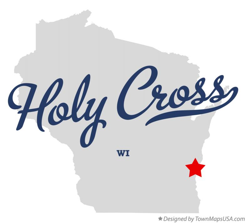 Map of Holy Cross Wisconsin WI