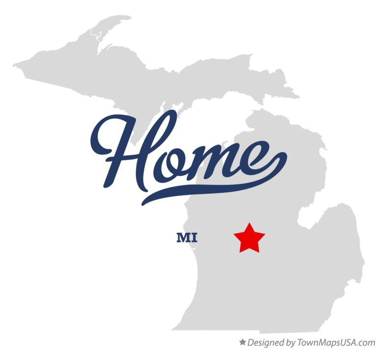 Map of Home Michigan MI