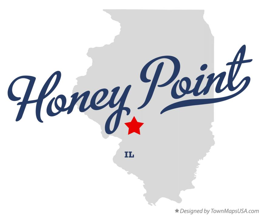 Map of Honey Point Illinois IL