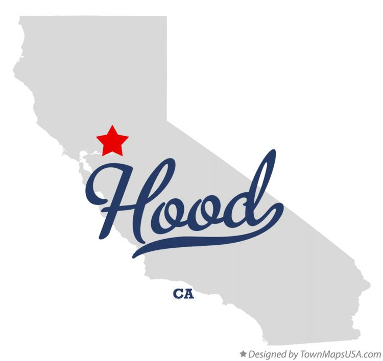 Map of Hood California CA
