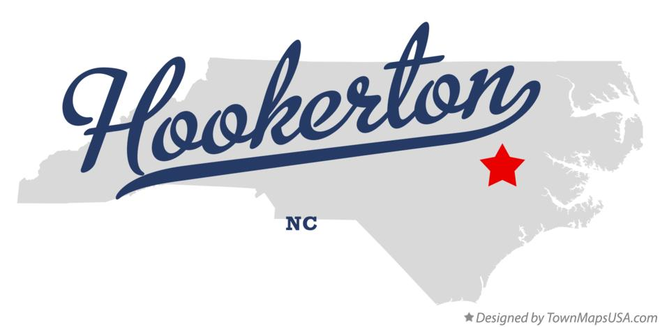 Map of Hookerton North Carolina NC