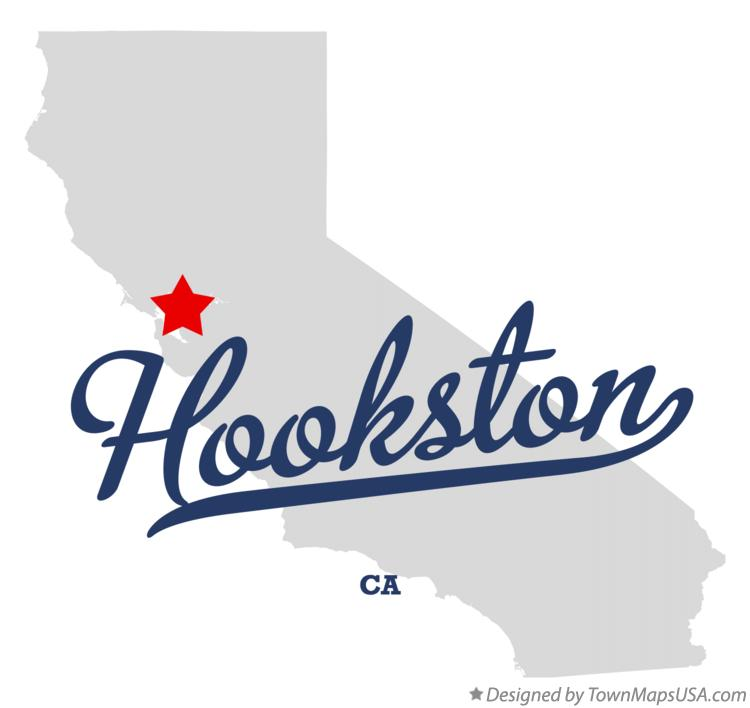 Map of Hookston California CA