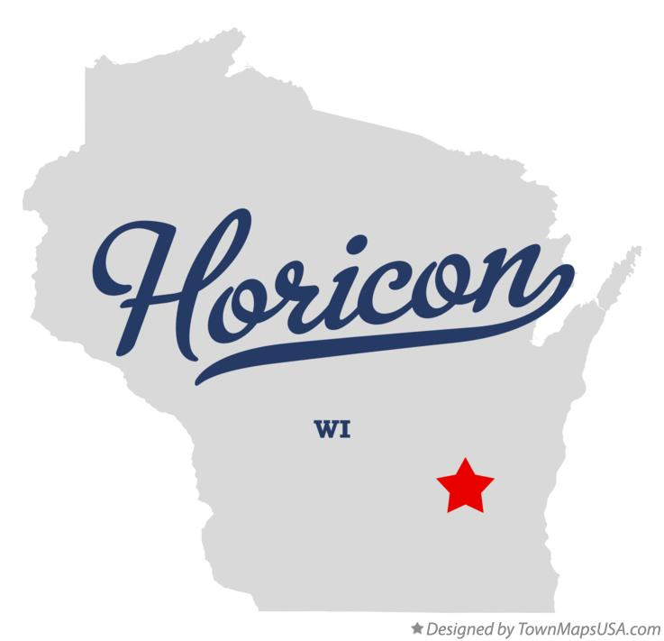 Map of Horicon Wisconsin WI
