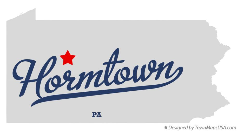 Map of Hormtown Pennsylvania PA