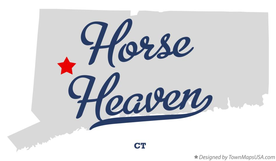 Map of Horse Heaven Connecticut CT