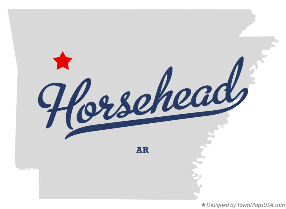 Map of Horsehead Arkansas AR