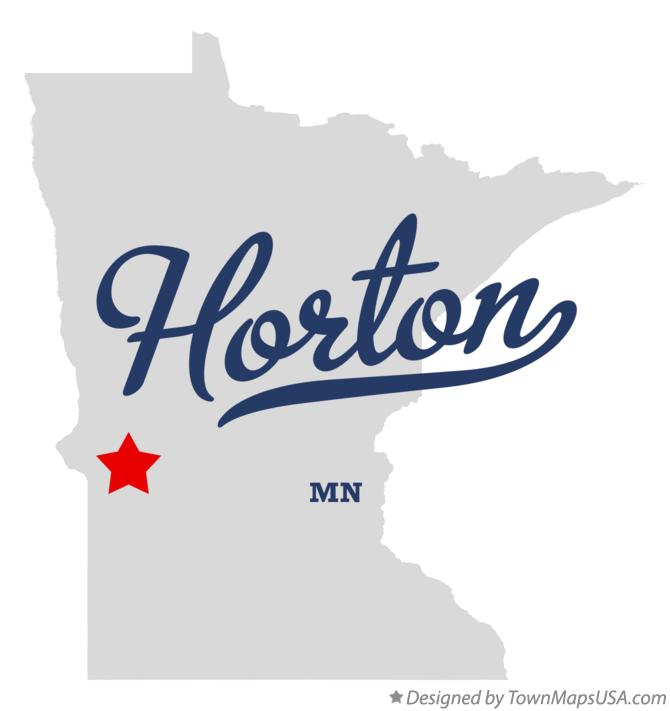 Map of Horton Minnesota MN
