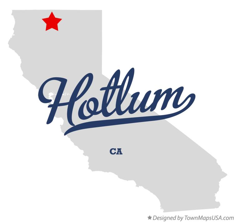 Map of Hotlum California CA