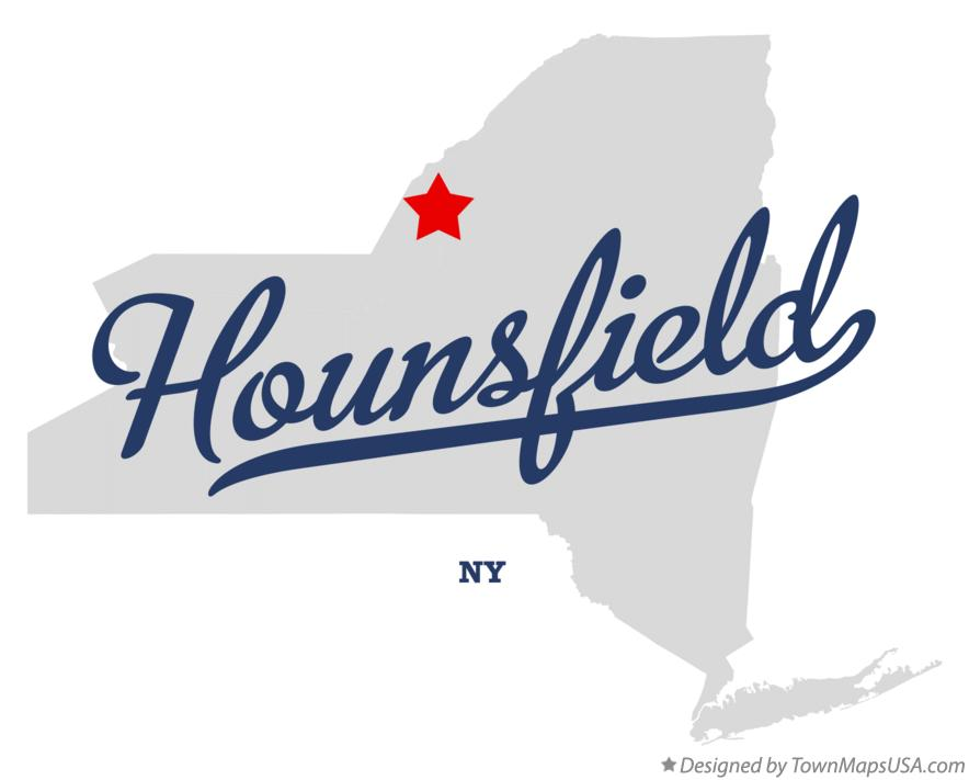 Map of Hounsfield New York NY
