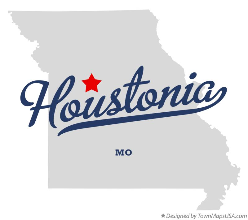 Map of Houstonia Missouri MO