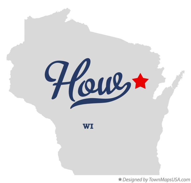 Map of How Wisconsin WI