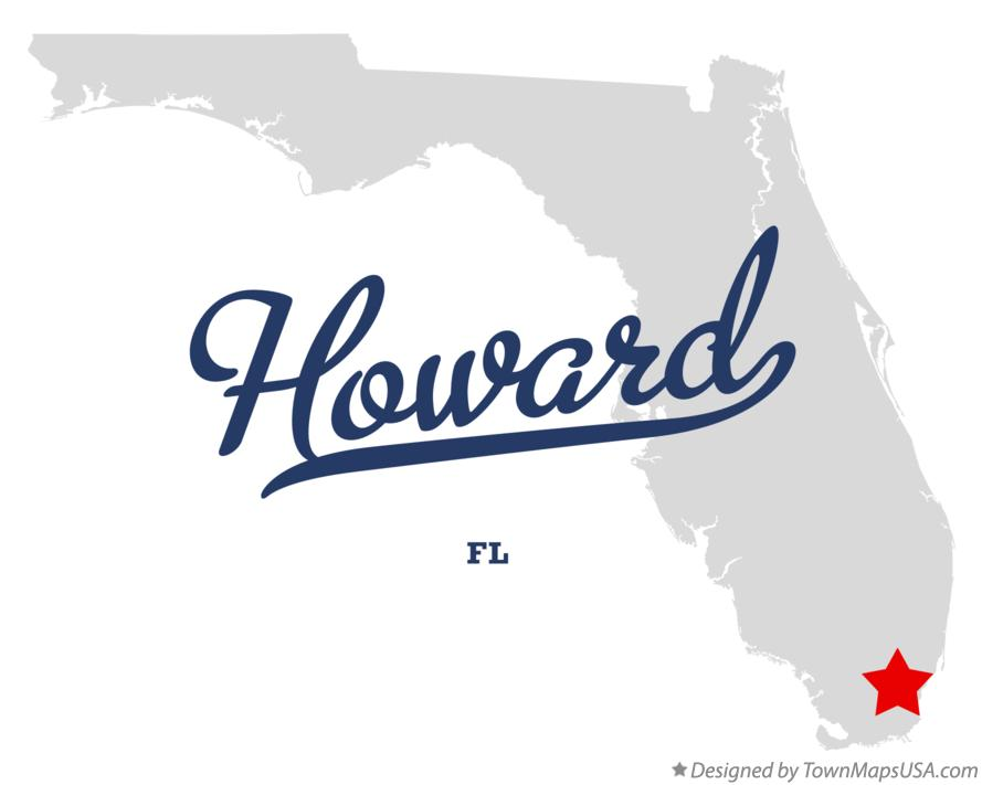 Map of Howard Florida FL