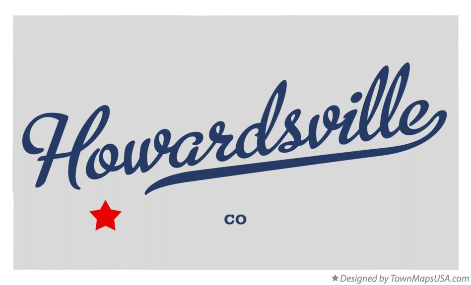 Map of Howardsville Colorado CO