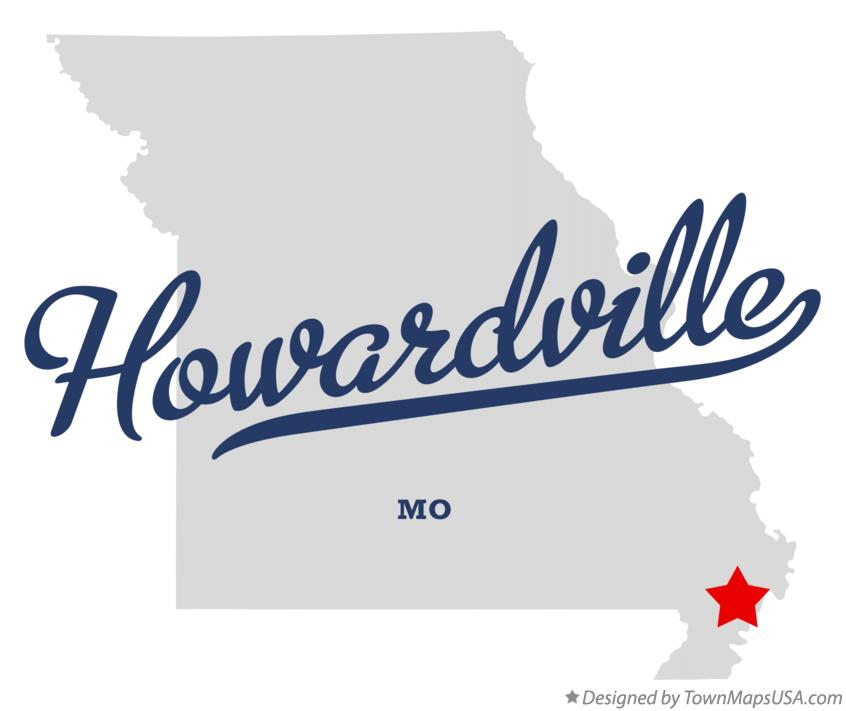 Map of Howardville Missouri MO