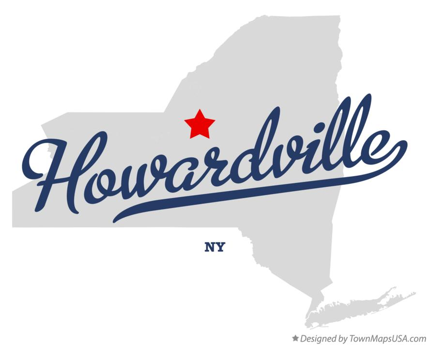 Map of Howardville New York NY
