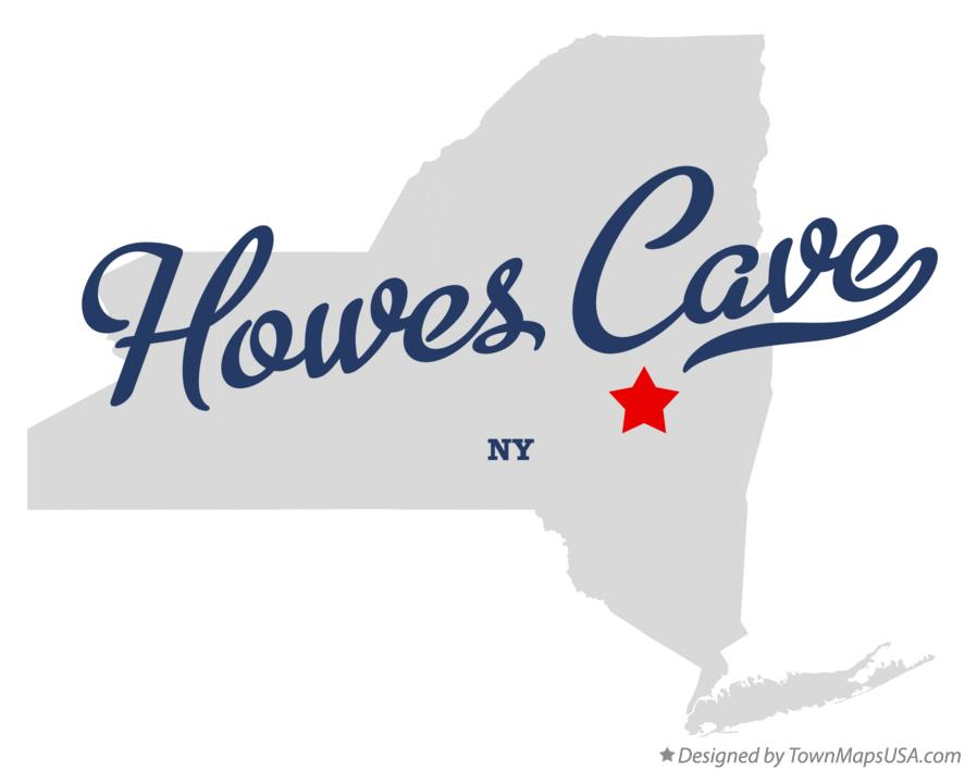 Map of Howes Cave New York NY