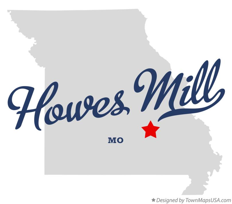 Map of Howes Mill Missouri MO