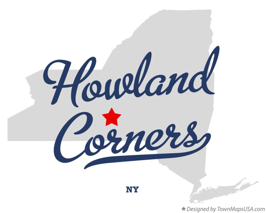 Map of Howland Corners New York NY