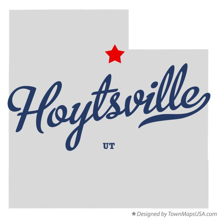 Map of Hoytsville Utah UT