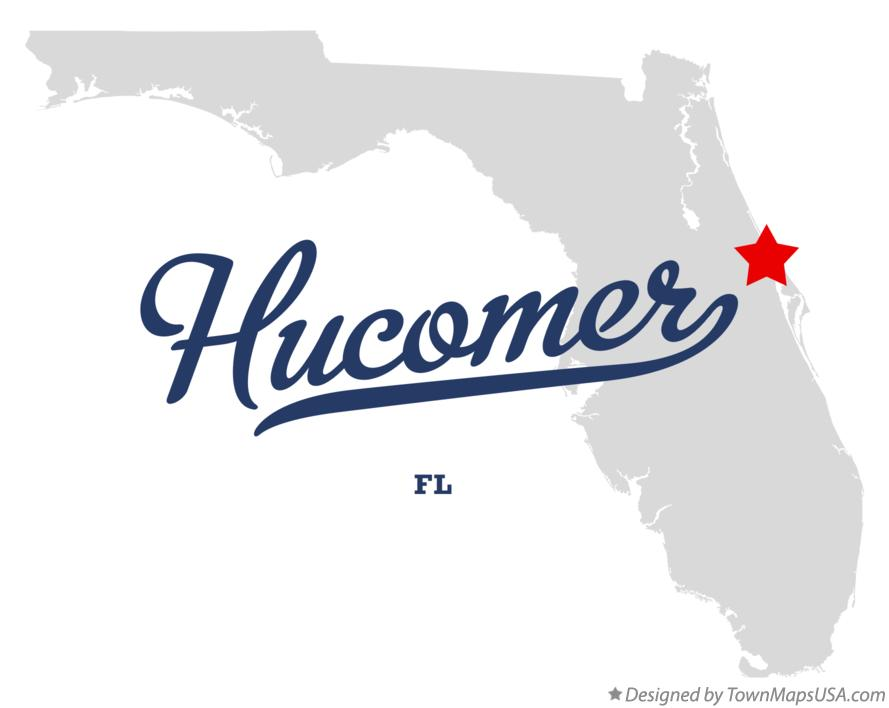 Map of Hucomer Florida FL