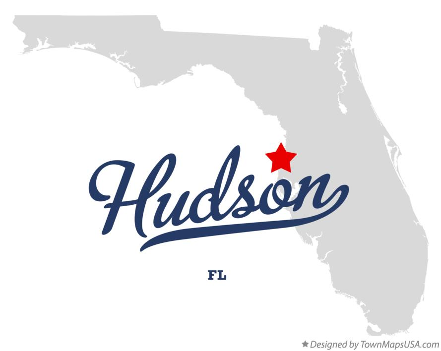 Map of Hudson Florida FL