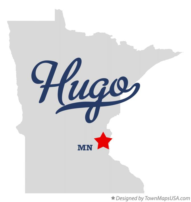 Hugo Minnesota Map.Map Of Hugo Mn Minnesota