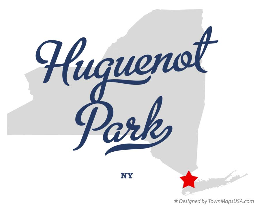 Map of Huguenot Park New York NY