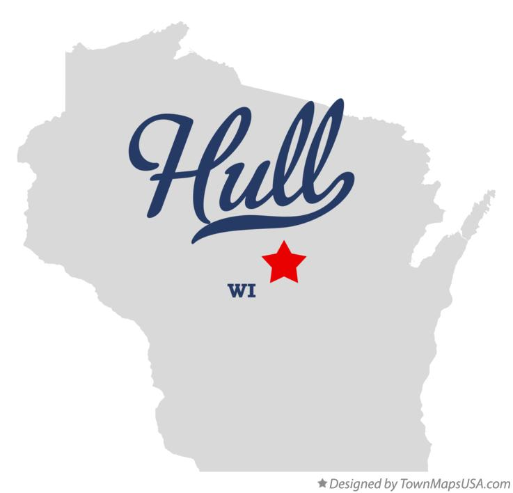 Map of Hull Wisconsin WI