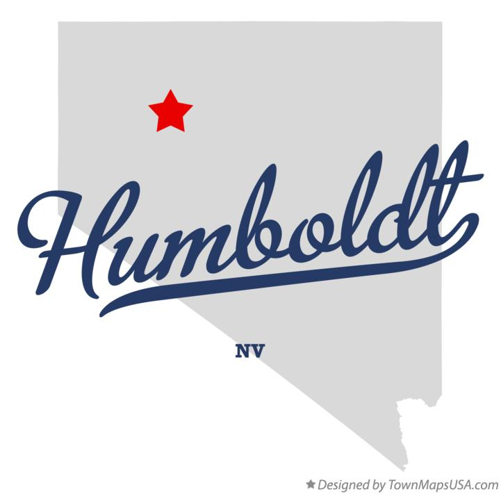 Map of Humboldt Nevada NV