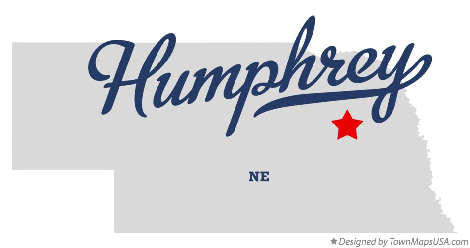 Map of Humphrey Nebraska NE