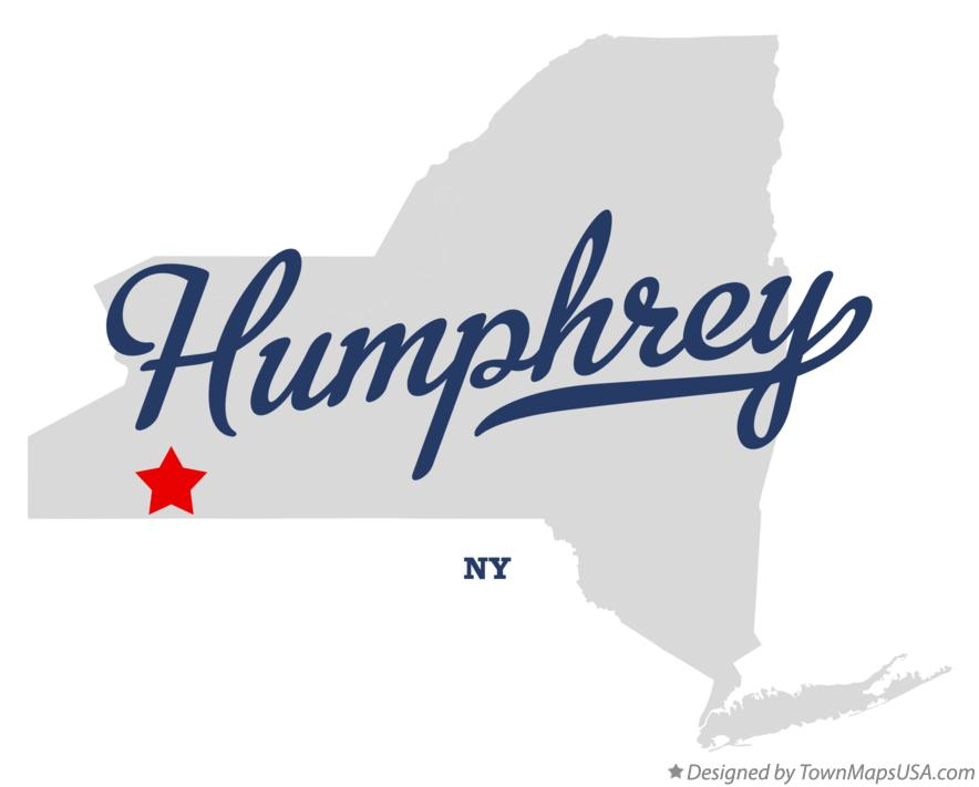 Map of Humphrey New York NY