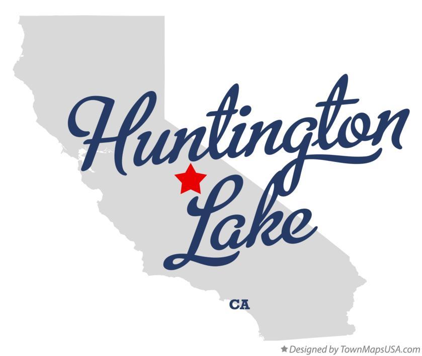 Map Of Huntington Lake Ca California