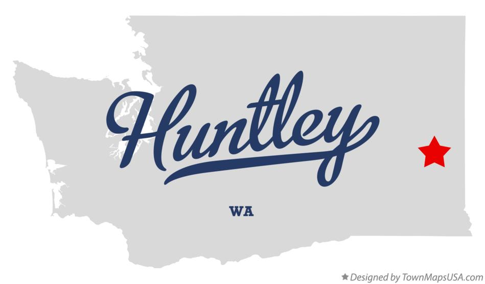 Map of Huntley Washington WA