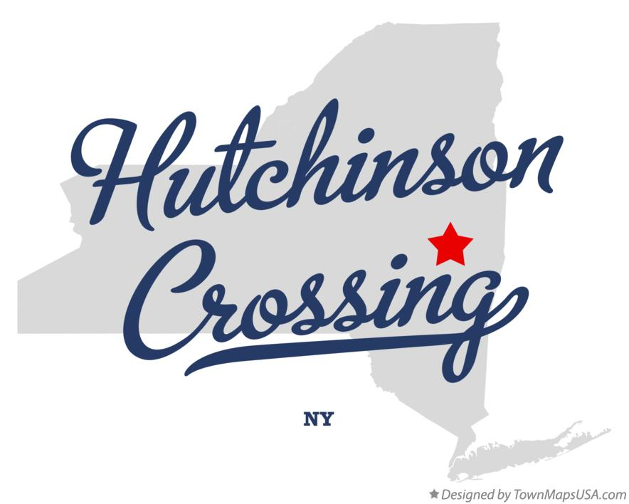 Map of Hutchinson Crossing New York NY