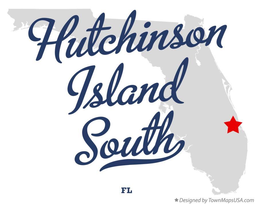 Hutchinson Island Florida Map.Map Of Hutchinson Island South Fl Florida