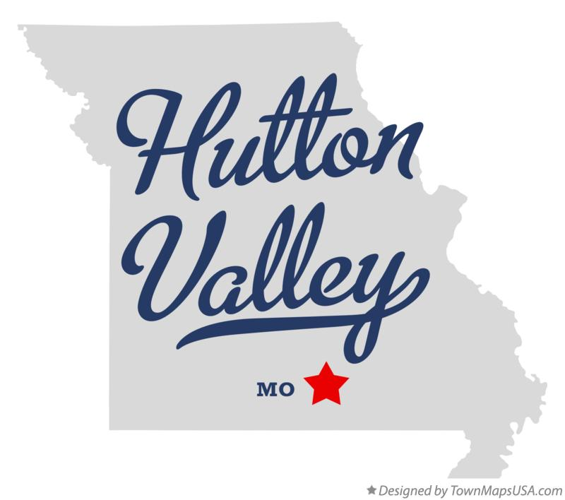 Map of Hutton Valley Missouri MO