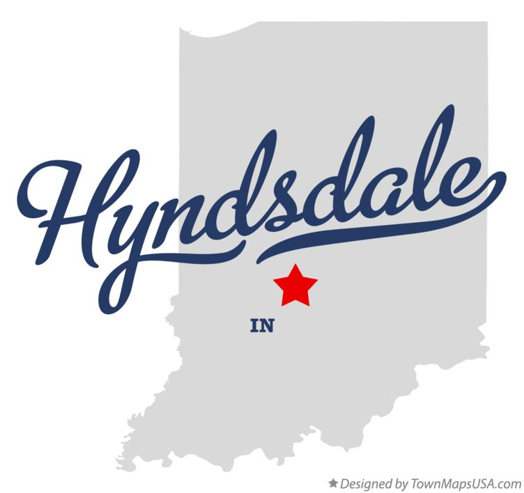 Map of Hyndsdale Indiana IN