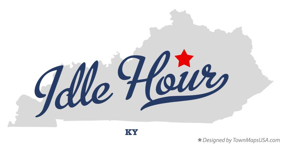 Map of Idle Hour Kentucky KY