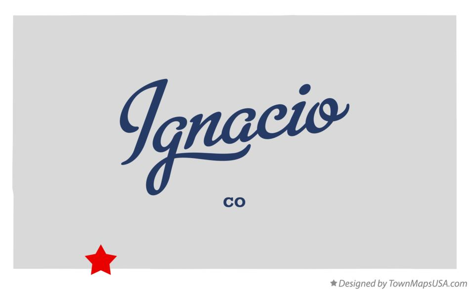 Map Of Ignacio Co Colorado