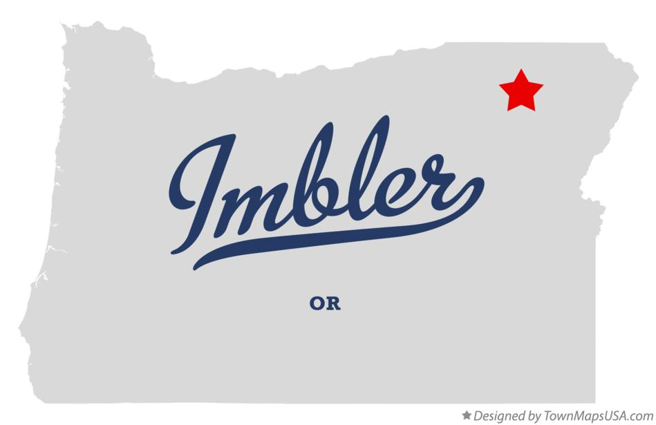 Map of Imbler Oregon OR