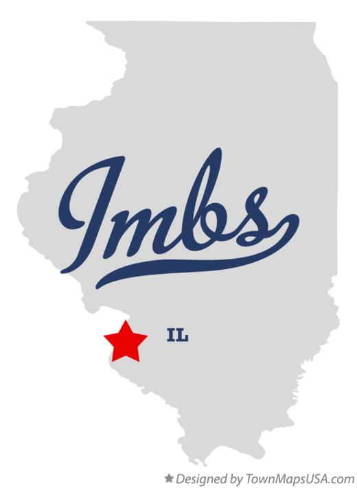 Map of Imbs Illinois IL
