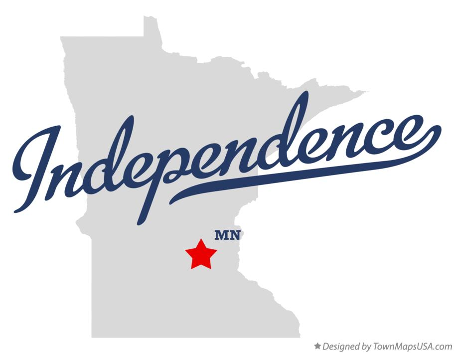 Map of Independence Minnesota MN