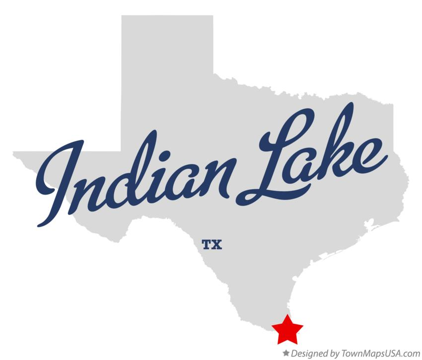 Map of Indian Lake Texas TX