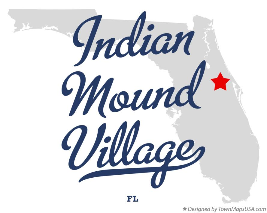 Map of Indian Mound Village Florida FL