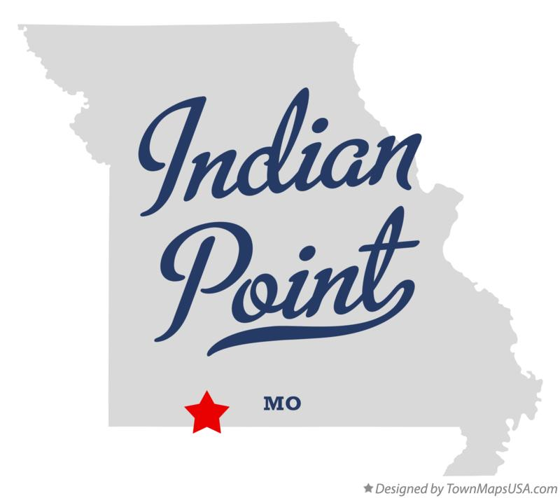 Map of Indian Point Missouri MO